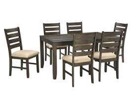 rokane brown dining table set