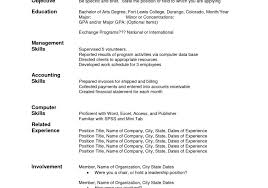 accounts receivables resumes templates accounts receivable resume horsh beirut manager job