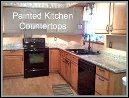 how to redo laminate kitchen countertops painting