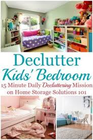How To Get Rid Of Kids Bedroom Clutter