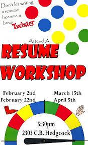 Resume Workshop Clipart