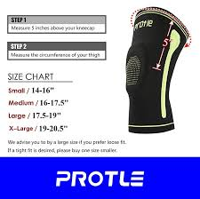 Shuijzh Breathable Sports Football Basketball Knee Pads Xl