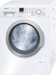 Standard Washing Machine Width Bosch Wak24160au Serie 4 7kg Front Load Washing Machine