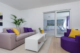 Lavender Living Room Photo Gallery Penthouse Lavender Split