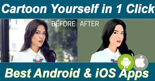 apps to cartoon yourself android ios