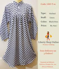 Dotted Tops Designs Black Dots Women Top Design Online Pakistani Dress