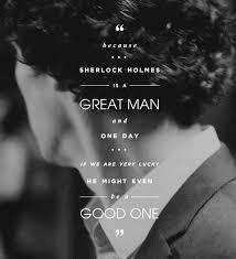 Sherlock Holmes Quotes Extraordinary Sherlock BBC