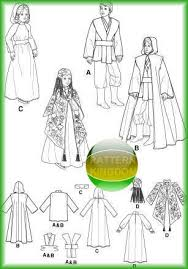 Star Wars Costume Patterns Amazing Simplicity 48 Childrens Star Wars Trilogy Costume Patterns