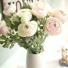"<b>1 pcs Artificial Ranunculus</b> Flowers 22.8"" Long Real Touch ..."