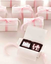 26 Chocolate Wedding Favors That Are Too Sweet To Pass Up   Martha Stewart  Weddings