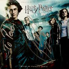harry potter and the goblet of fire cd signed by patrick doyle