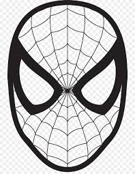 spider man drawing face coloring book clip art spider man mask cliparts