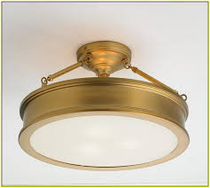 simple antique brass flush mount ceiling light white classic adjule personalized gold