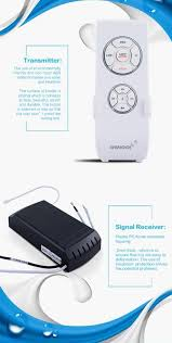sheng qi universal remote control for ceiling fan and lights