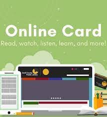 Maybe you would like to learn more about one of these? Get A Library Card Cecil County Public Library
