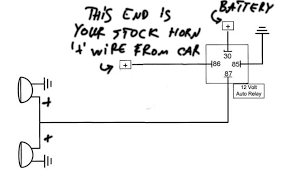 wiring diagram for car horn the wiring diagram 12 volt horn wiring diagram nilza wiring diagram
