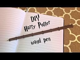 diy harry potter wand pen you
