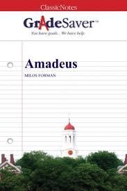 amadeus summary gradesaver section navigation home study guides amadeus amadeus summary amadeus study guide