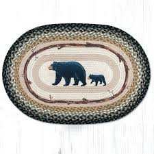 capitol earth rugs bear cub and mama oval braided rug capitol earth rugs op capitol earth capitol earth rugs