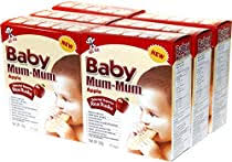 Hot-Kid <b>Baby Mum</b>-<b>Mum Apple</b> Flavor Rice Biscuit, 24-pieces, 1.76 ...
