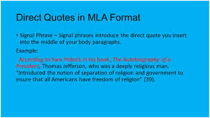 Mla Long Quote Ssquoteorg