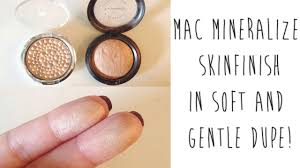 Mac Mineralize Skinfinish Color Chart Mac Mineralize Skinfinish Soft And Gentle Swatches Review