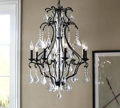 pottery barn bellora chandelier ruby crystal chandelier pottery barn dream crystal chandelier above dining room maybe
