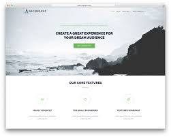 50 best responsive wordpress themes 2017 colorlib build any kind of page from and portfolios to small businesses it will simply adapt to what you want ascendant comes different versions for
