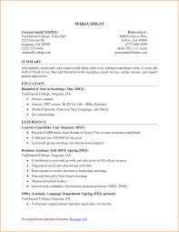 High School Resume Template For College Resume Solagenic