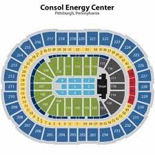 Ppg Paints Arena Concert Seating Chart Consol Energy Center Seating