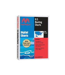 Maptech U S Boating Charts Dvd With Tides And Currents