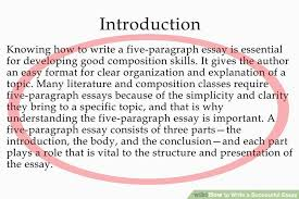 success essay examples success essays examples cover letter  you have your topic image titled write a successful essay success essay examples