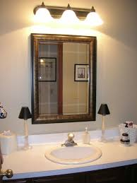 Light On Top Of Mirror Chic Large Bathroom Vanity Mirror How To Install A Wall