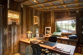 office barn. Office Barn With Pole Home Rustic Exposed Wood Beams Office Barn