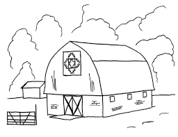 Barn coloring pages barn coloring pages free free printable barn
