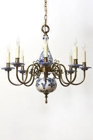 home chandeliers eight arm delft chandelier