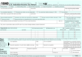 Irs 1040 form is a necessary document that must be filled by all us citizens to declare their income for the year. Describes New Form 1040 Schedules Tax Tables
