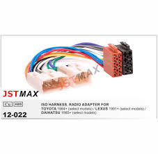 detail feedback questions about jstmax iso radio plug for toyota jstmax iso radio plug for toyota lexus daihatsu wiring harness wire cable adapter connector adaptor
