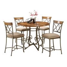 height dining set sun andover mills court  piece counter height dining set amp reviews