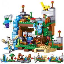 <b>Building Blocks Brinquedos Model</b> set Figures Toys Minecraft Sword ...