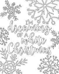 Christmas Coloring Pages For Adults Printable Printable Coloring