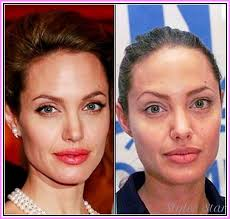 posts to celebrity without makeup before and