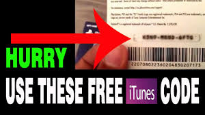 free itunes gift card codes no survey