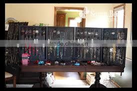 pegboard shelving wall display hanging display rack