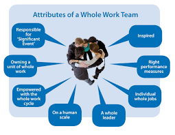 working as a team whole work teams tricordant limited whole systems organisation