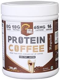 ripped up nutrition protein coffee regular 256 grams
