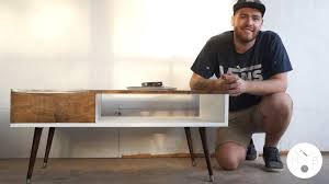 Diy Mid Century Modern Dining Table Mid Century Modern Coffee Table Diy Modern Builds Ep 11 Youtube
