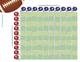 Super bowl office party ideas Catering Super Bowl Party Game Printout Partyfunprintables Free Printable Super Bowl Squares 100 Grid For Your Nfl Pool