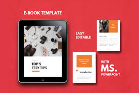 Ebook Template Tips Ebook Template Easy Editable Using Ms Powerpoint