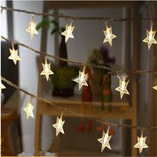 Led String Licht Sterne Led Beleuchtung 10 Mt 80led